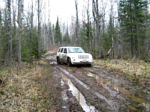 Mudding In Northern Wisconsin in Jeep Patriot FD1