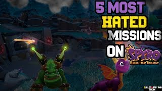 Spyro Reginited Trilogy: Top 5 Most Hated Missions