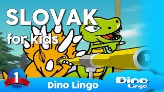 Slovak for kids - Slovak learning for children,  slovenský jazyk