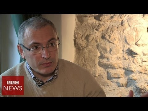 'Yanukovych controls Ukraine situation' says Mikhail Khodorkovsky - BBC News