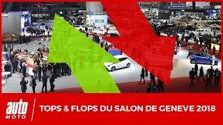 Salon de Genève 2018 : les tops et les flops