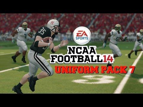 NCAA Football 14: Uniform Pack 7 Available Now!