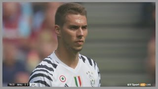 Marko Pjaca vs West Ham (Away) 07/08/2016 | Debut for Juventus | English Commentary | HD