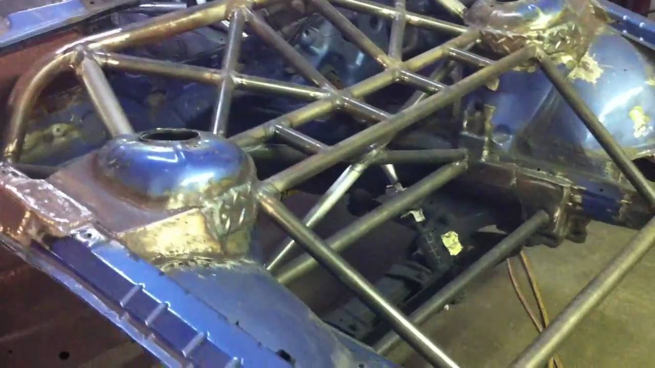 Bmw E36 M3 Rollcage Chassis Reinforcement Youtube
