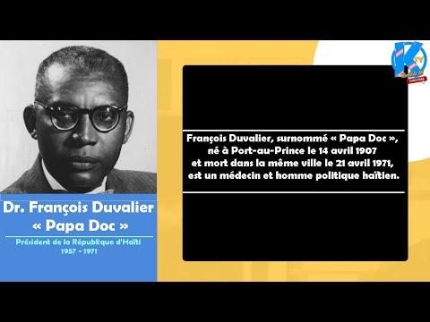 François Duvalier - Naissance (Histoire)