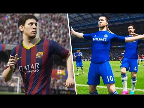 Fifa 15 - Demo Gameplay (xbox One ps4) - Barcelona Vs Chelsea video