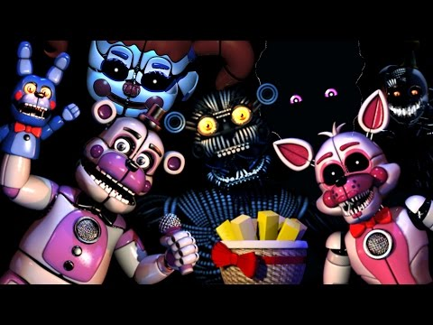 Five Nights at Freddys: Sister Location - REACTION COMPILATION