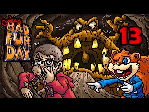 Let's Play Conker's Bad Fur Day [Deutsch/Blind][#13] Gesundheit!!!!