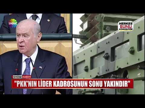 """Bahçeli: """"PKK'nın lider kadrosunun sonu yakındır"""""""