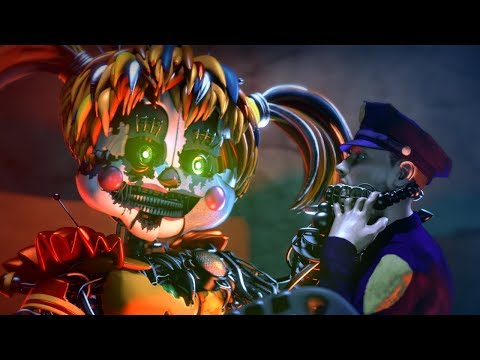 "FNAF SONG: ""LET ME GO"" (Official Music Video Animation)"