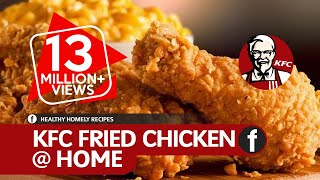 How To Make KFC Fried Chicken | Crispy Spicy Fried Chicken Recipe | Fuze HD | Dish 04