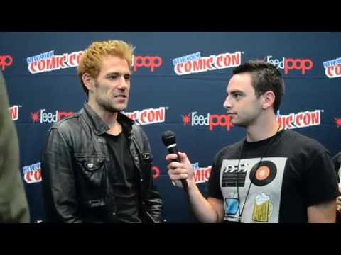 Constantine - NYCC Interview w/ Matt Ryan, Angélica Celaya, & David S. Goyer