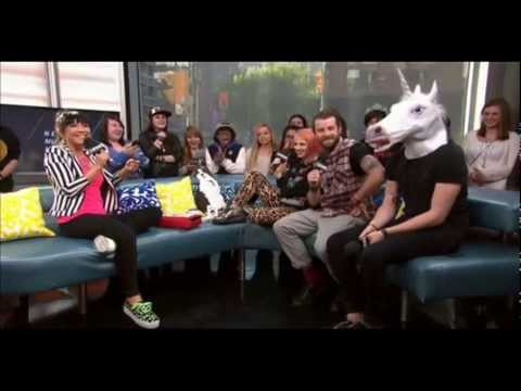 Paramore On New.music.live. - 2013 May 13 video