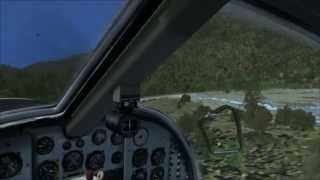 PNG AYEO Mission - DO-27 landing