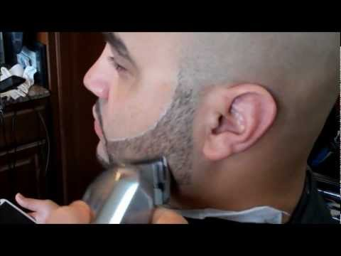 HOW TO   CRISPY BEARD TRIM WITH GHOST OUT LINE   HD - TIMELESS BARBERS