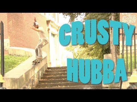 ANTHONY SHETLER skateboarding CRUSTY HUBBA
