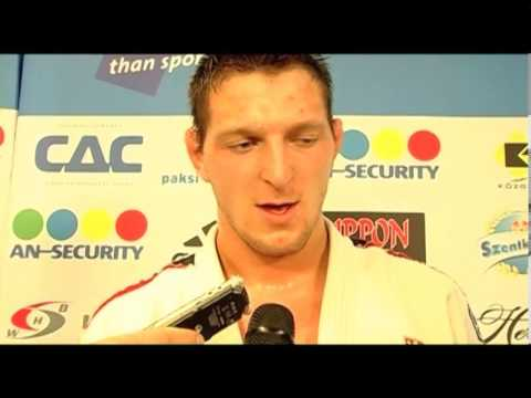 Interview Lukas Krpalek (CZE) -100kg ECh Budapest 2013