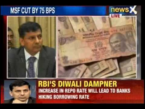 News X: RBI Governor Raghuram Rajan addresses press conference after policy declaration