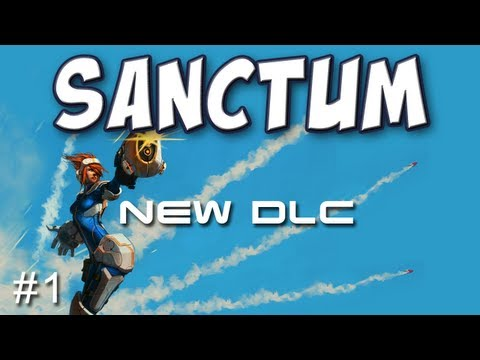 Sanctum - Aftershock Map & New Towers/Weapons Part 1