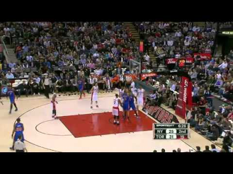 NBA Toronto Raptors vs New York Knicks | Friday, March 23, 2012 | W 96 - 79 Highlights