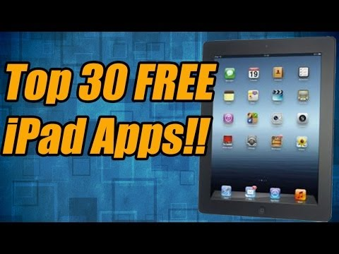 Top 30 Best FREE iPad Apps Ever In The App Store!