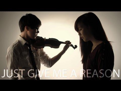 P!nk - Just Give Me A Reason Ft. Nate Ruess - Jun Sung Ahn Violin Cover Ft. Sarah Park video