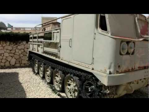 Soviet ATS-59 & AT-L Trucked Artillary Tractor Captured from Syria and Egypt 1967 and 1973