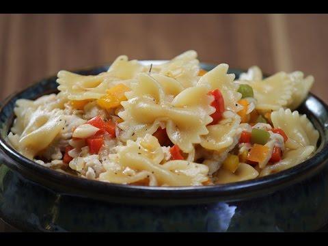 One Pot Pasta With Chicken | Sanjeev Kapoor Khazana