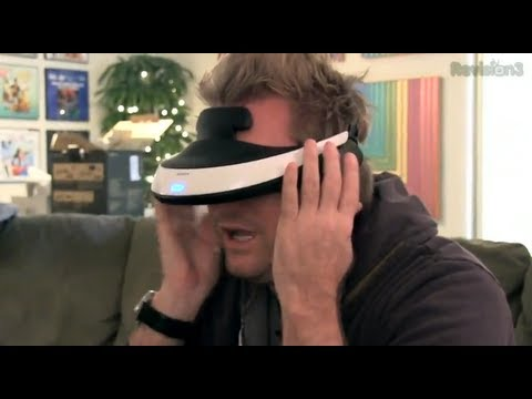 Sony 3D Headset   Hands-On Virtual Reality Review