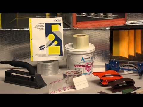 Intro to Fiber Glass Duct Board Fabrication (1/22)