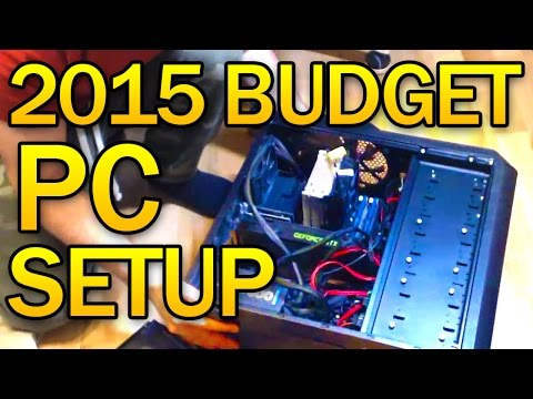 Gaming PC 2015 - PC Build - My Setup Part 1