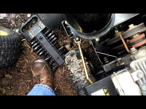 snow blower auger repair deatailed