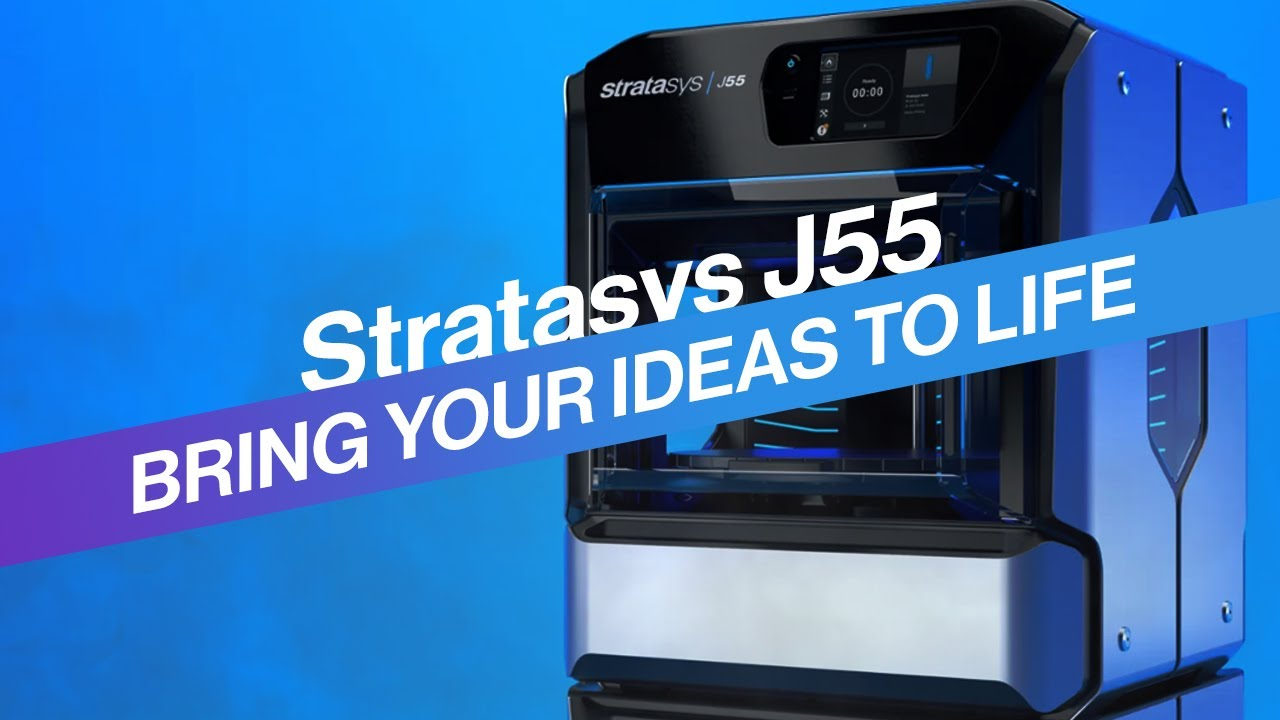 Full-Colour Office-Friendly 3D Printer | Stratasys J55 PolyJet