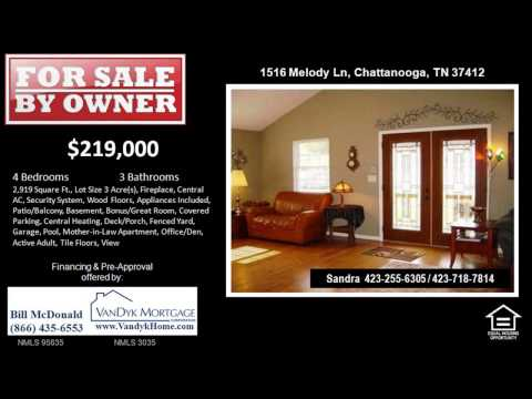 3 Bedroom House For Sale near East Lake Academy of Fine Arts in  Chattanooga TN