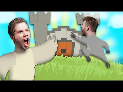 BREAKING INTO THE CASTLE!   Ultimate Chicken Horse [Ep 4]
