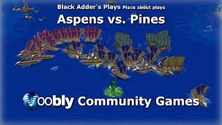 Aspens vs. Pines - Voobly Community Games - Age of Mythology: The Titans