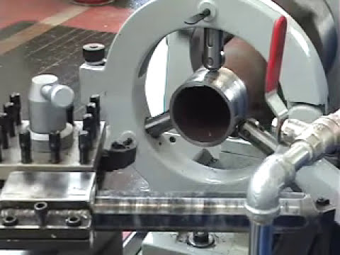 Advance METAL LATHE- boring steady rest facing