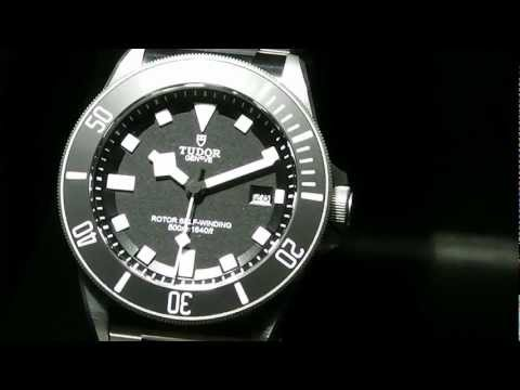 Tudor - Pelagos & Heritage Black Bay Diver - Baselworld 2012