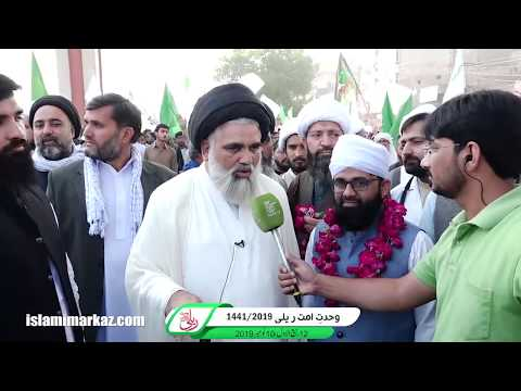 Interview (Part 01)  | Ustad-e-Mohtaram Syed Jawad Naqvi | Wahdat-e-Ummat Rally 2019