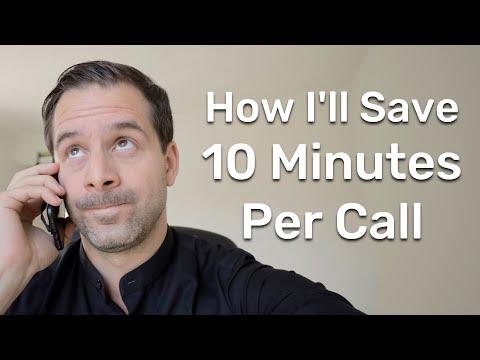 How I'll save 10 Minutes per Phone Call | Cédric Waldburger ...