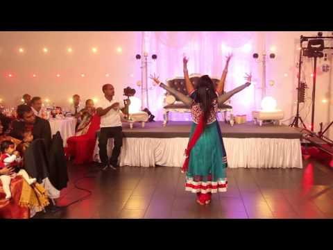 Hindi/Tamil dance at reception