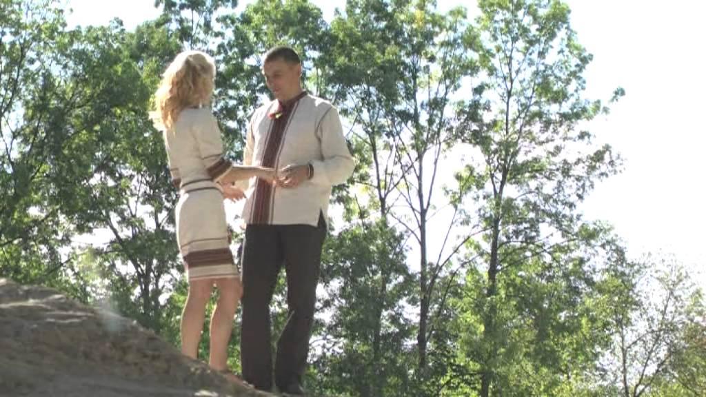 Молодята перед весіллям у Шешорах на полонині