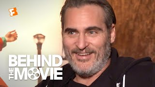 Joaquin Phoenix Talks Crafting the Joker's Bloodcurdling Laugh   'Joker' Interview   Fandango