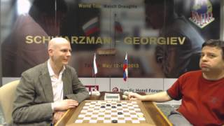 World Title Match Draughts Match Day 5