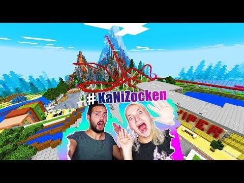 Kaan + Nina reagieren auf FREIZEITPARK MIT HEFTIGEN ACHTERBAHNEN + WILDWASSERBAHN! Theme Park Katea