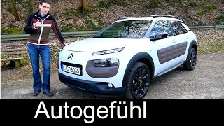 2016 Citroen C4 Cactus test driven FULL REVIEW 100 hp Diesel + Shine - Autogefühl