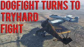 Dogfight Turns To Tryhard Fight | Gta 5 Online