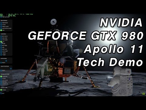 NVIDIA GTX 980 Maxwell Apollo 11 Tech Demo - 1080p 60 FPS