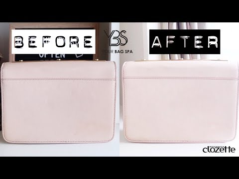 Leather Bag dari Buluk Jadi Kinclong 😍 - YouTube