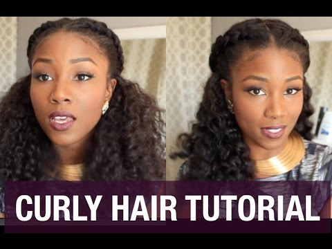 CURLY HAIR SOLUTIONS TUTORIAL   FALL LOOK